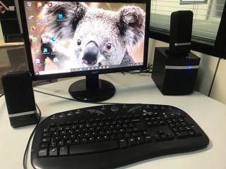 Ordenador sobremesa Acer,teclado,ratón
