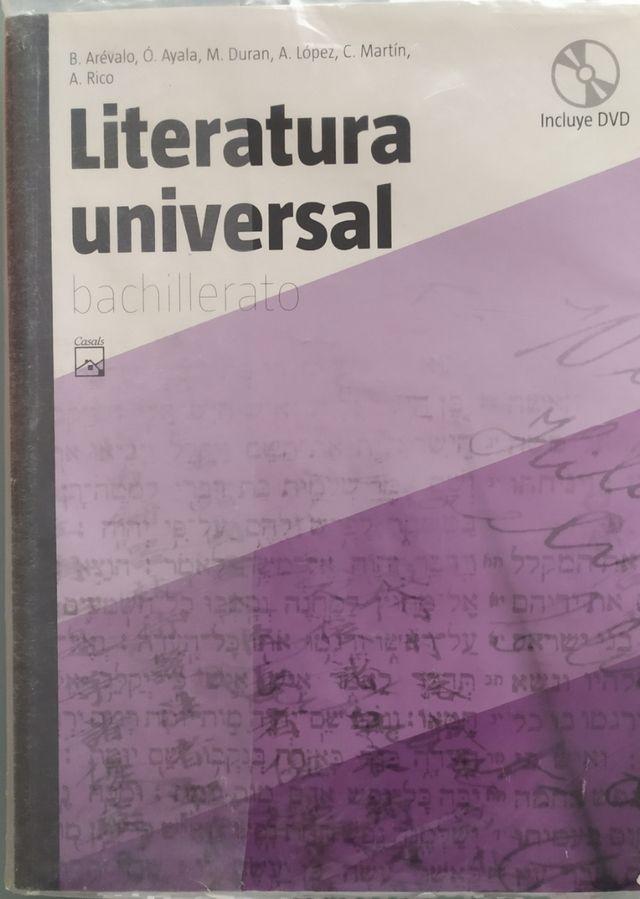 Literatura Universal bachillerato Casals