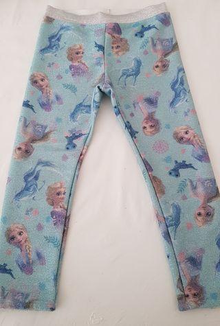 Leggins Elsa Frozen H&M talla 98