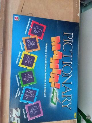 juego de mesa Pictionary manía de mattel