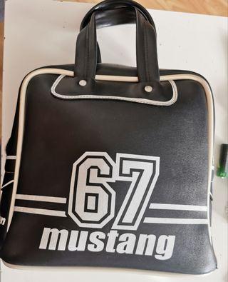 bolso vintage Mustang