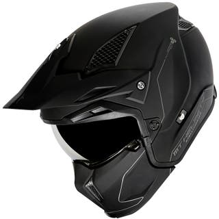 CASCO MT TRIAL STREETFIGTHER NEGRO MATE