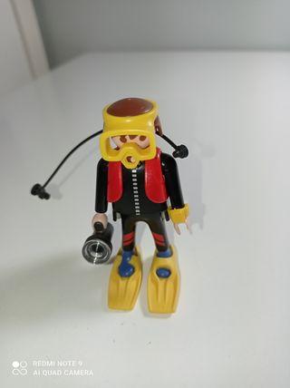 buzo de Playmobil