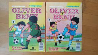Comic Oliver y Benji