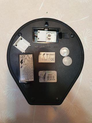 Balanza electrónica para gramos