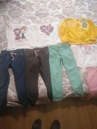 Lote ropa niña 5 años