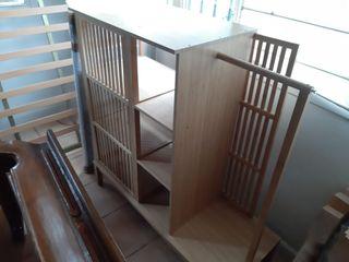 Mueble de madera baño
