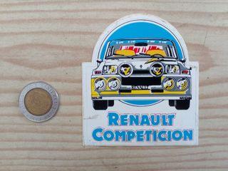 Pegatina Adhesivo Renault Competicion