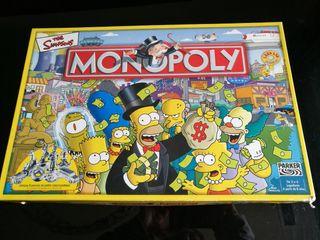 juego de mesa Monopoly Simpsons