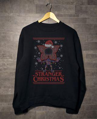 Sudadera Jersey NUEVA Stranger Things Navidad