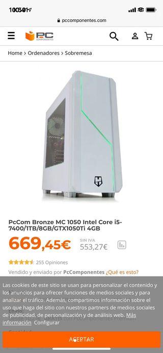 Pc Gaming PcComponentes