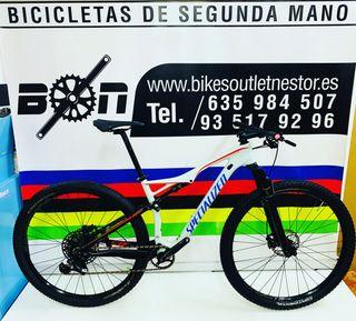 Bicicleta Specialized Epic fsr Comp carbón eagle