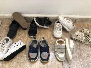 Zapatillas y zapatos de niño talla 23 lote