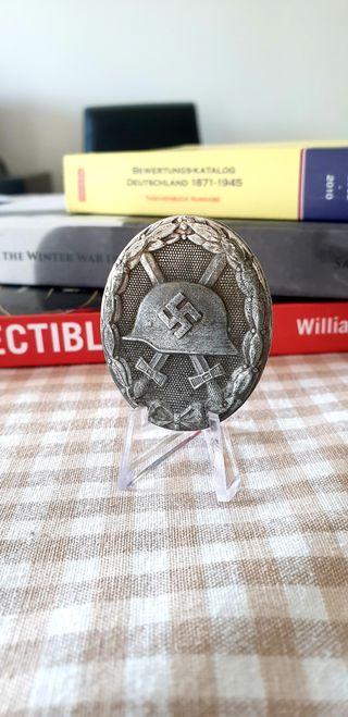 Medalla alemana del herido en plata