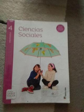 libro de ciencias sociales 4°primaria.