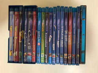 Colección blu-ray películas pixar