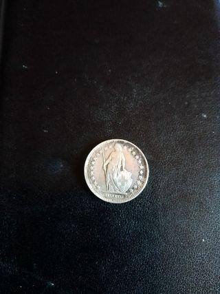 Moneda de plata de Suiza