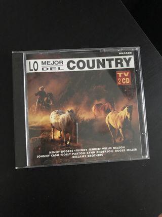 Lo mejor del country 2CD