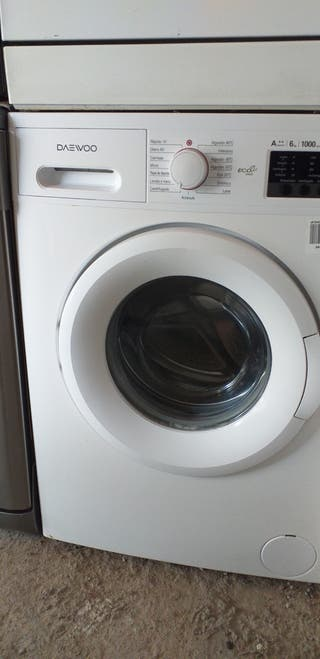 lavadora Daewoo clase A++ 6 kg