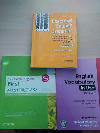 Libros de inglés (Gramática y vocabulario)