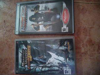Monster hunter y Prince Persa PSP
