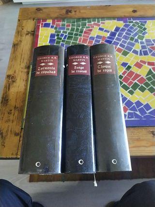 Colección libros Juego de tronos