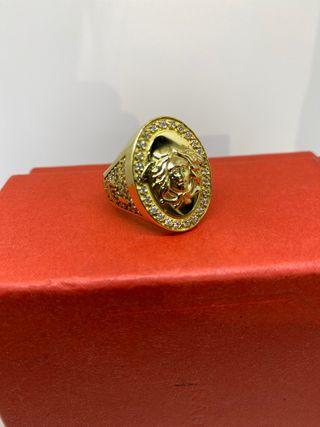 sello oro de primera ley tipo versace