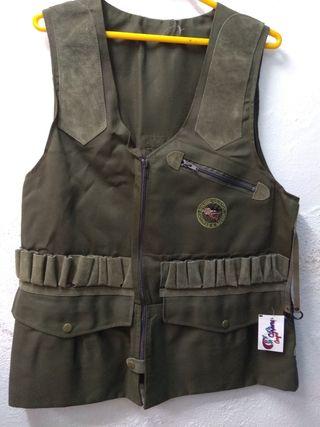 chaleco 603 verde caza