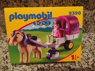 Playmobil 1,2,3 referencia 9390 para bebés, nuevo