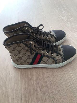 Zapatilla bota Gucci