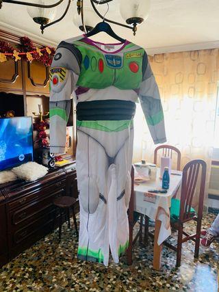 Disfraz traje toy story con luces