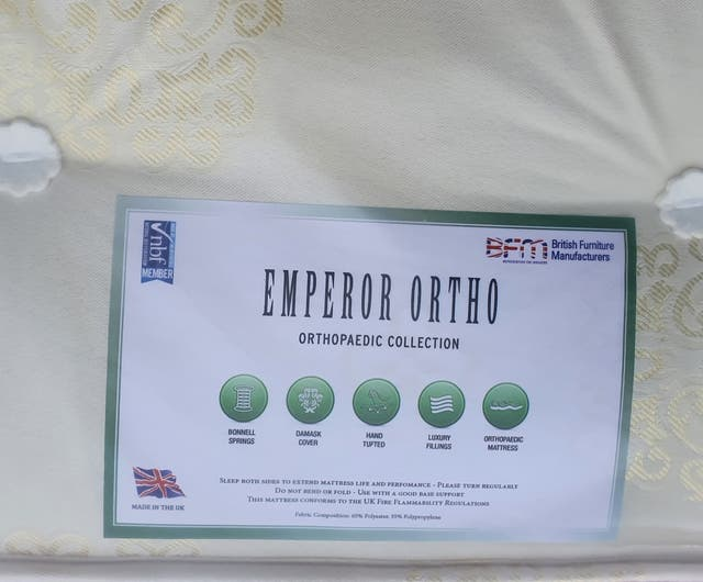 single 3ft orthopaedic mattress