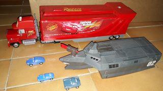 Disney Cars camión y barco