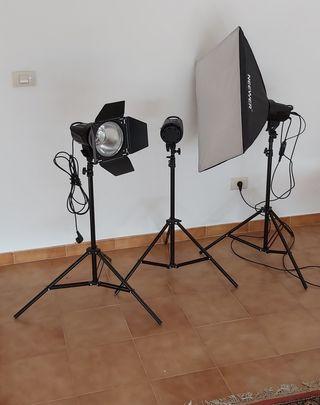 flash estudio fotográfico profesional