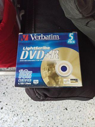 DVD+R LightScribe Verbstim