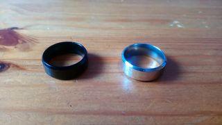 2 anillos nuevos (unisex)