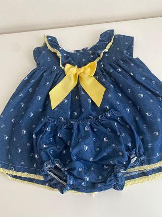 Vestido jesusito Valentina bebes