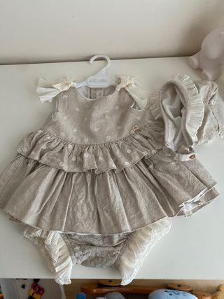 Vestido jesusito dolce petit 18 meses