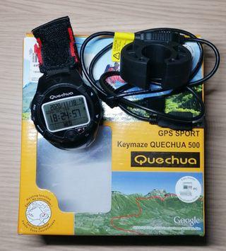 GPS sport keymaze quechua 500