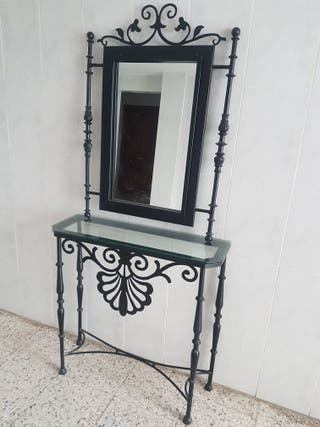 hierro forjado decoración de la entradas
