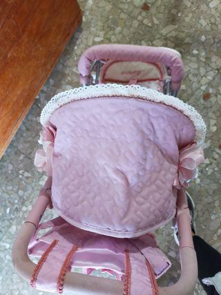 carrito de muñecos gemelar MARTINA