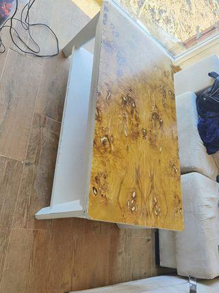 mesa de centro artesana