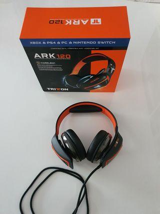 Auriculares Tritton Ark 120, nuevos.
