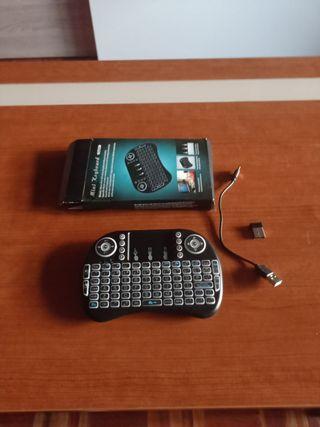 mini teclado para smart tv pc o mas cosas