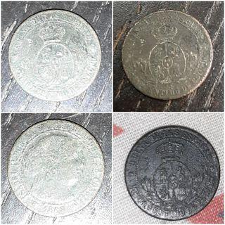 1 céntimo de escudo.
