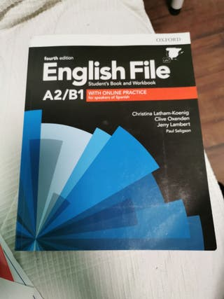 English File A2/B2 libros inglés