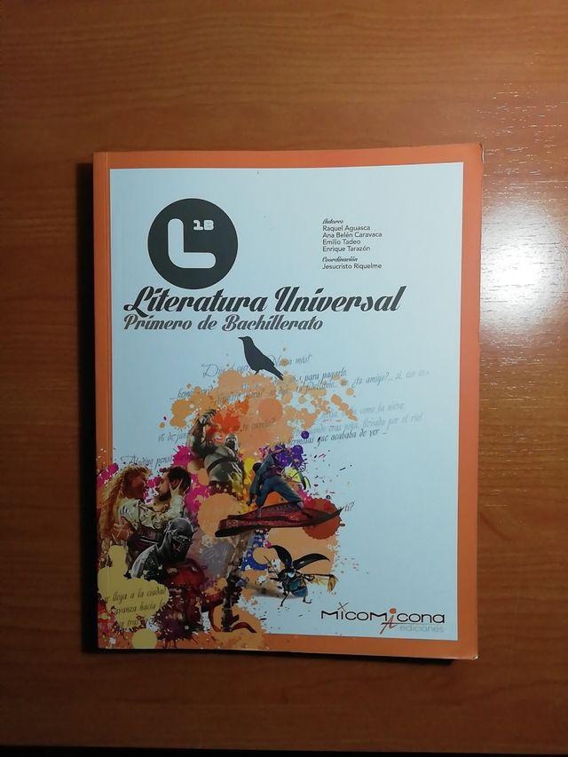 Libro de lecturas de Literatura universal 1°bach