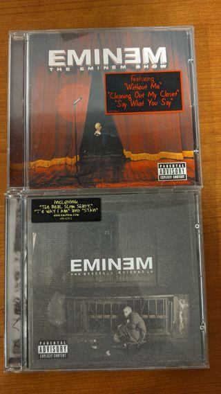 2 cd's Eminem