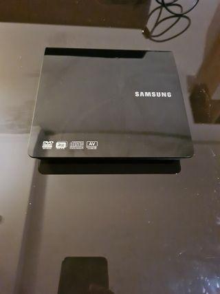 Lector Grabador Samsung más auriculares