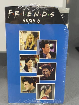 "Colección 6 VHS ""Friends """